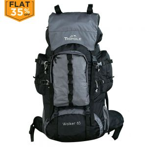 Tripole Walker 65 ltr Rucksack Grey/Black