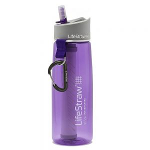 Lifestraw Go With 2 Stage Filtration Purple