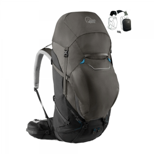 Lowe Alpine Cerro Torre 65-85 Ltr Rucksack - BlackGreyhound