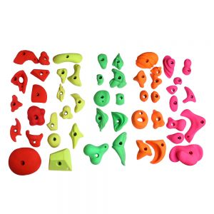 Rocksport Climbing Holds Set of 50 Pro