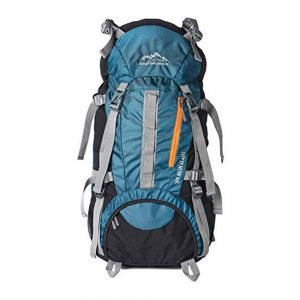 TRY IT NOW ENDEAVOUR Unisex Polyester 60 L Rucksack for Trekking Snow (Airforce Blue) 1
