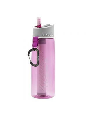 Lifestraw Go With 2 Stage Filtration Pink