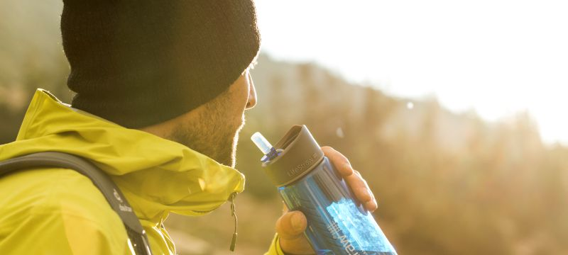 Get Safe-to-Drink water Anytime-Anywhere on the GO