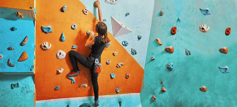 Climbing as New Regime for Fitness